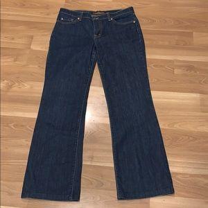 David Kahn blue jeans size 8